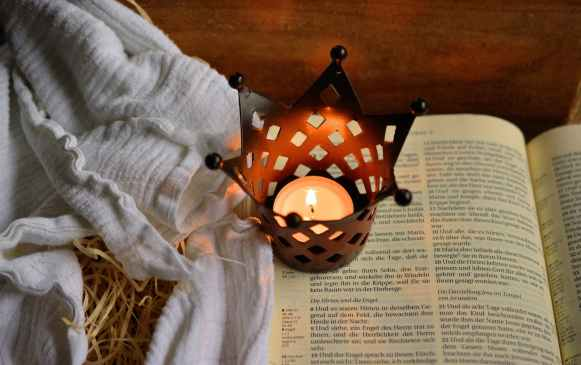 bible candle christianity scripture