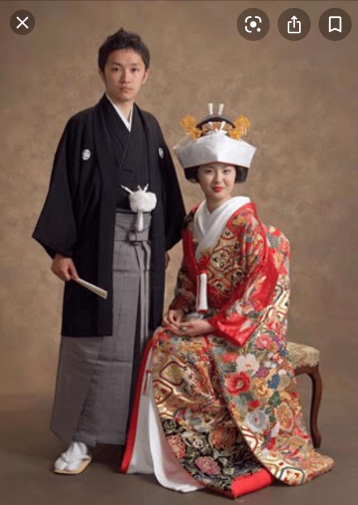 Japansk traditionellt  dräkt